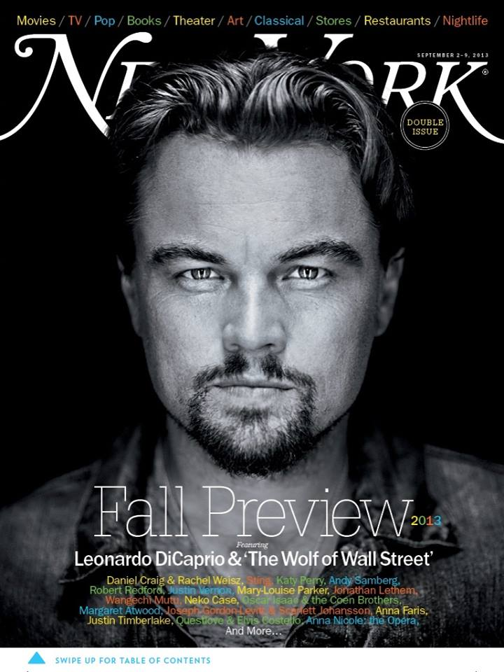 Leonardo DiCaprio stars newest cover New York Magazine